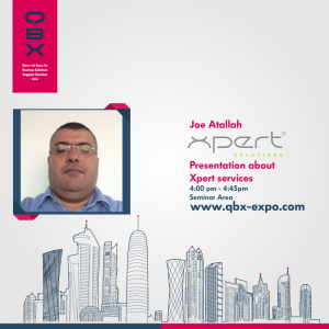 TITLE Xpert Solutions at QBX Expo